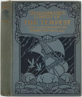 Shakespeare's Comedy of The Tempest. William Shakespeare, Edmund Dulac