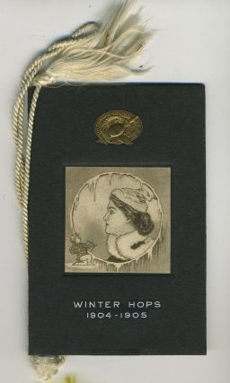 West Point Hop card, Winter Hops 1904-1905. West Point.