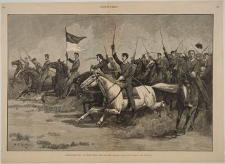 Graduation Day at West Point - The Cavalry Charge. West Point, Print