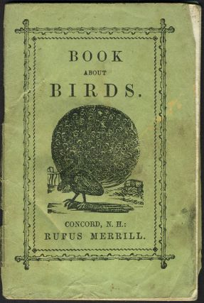 Book about Birds. Children's, Rufus Merrill, publishers Co, Lyre Bird