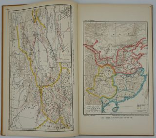 Historical and Commercial Atlas of China.