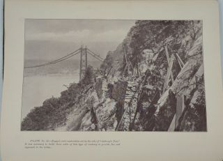 Construction of Parallel Wire Cables for Suspension Bridges.