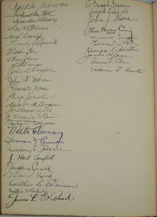 Dominick and Dominick 1870-1930. Signed.