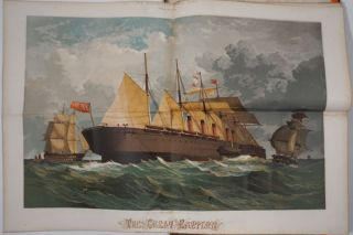 The SS Great Eastern panorama, Antarctic Christmas, Franklin Search in the Fox, in the...