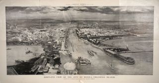 Bird's-eye view of the City of Manila, Philippine Islands. G. W. Peters