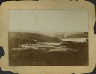 Camp Smith, Peekskill, NY. Albumen photograph. H. Halstead Pierce
