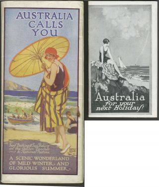 Australia Calls You to Sunshine, Freedom and Prosperity. A Tourists' Paradise.