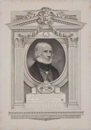 Alexander Anderson, The First Engraver on Wood in America. Engraved portrait. Society of...