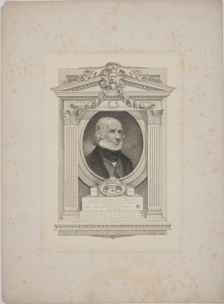 Alexander Anderson, The First Engraver on Wood in America. Engraved portrait.