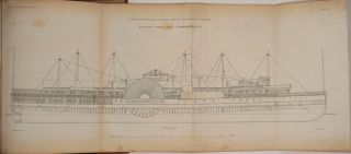 """Transactions of the Institution of Naval Architects. Volume II of the periodical. Russell article """"On American River Steamers"""""""