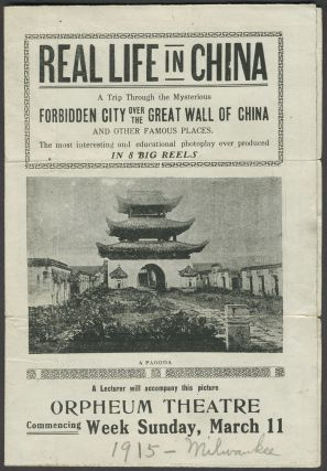 """Real Life in China. A Trip Through the Mysterious Forbidden City Over the Great Wall of China..."