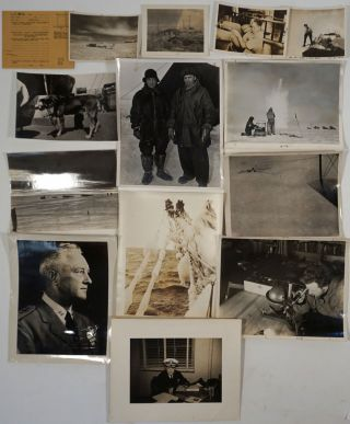 Byrd's Second Antarctic Expedition. Real photographs.