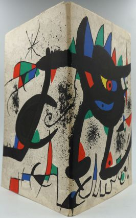 Miro. Paintings, Gouaches, SOBRETEIXIMS, Sculpture, Etchings. Exhibition Catalog. Joan Miro