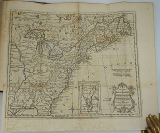 Map of the American Colonies, bound in The Annual Register, or a View of the History, Politics, and Literature, For the Year 1763.