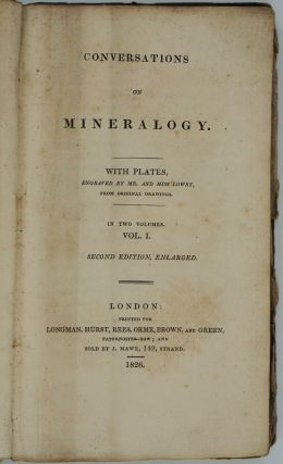 Conversations on Mineralogy. Volume I only. Delvalle Lowry