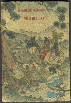 Momotaro or The Little Peachling. K. Florenz, Crepe Paper Book
