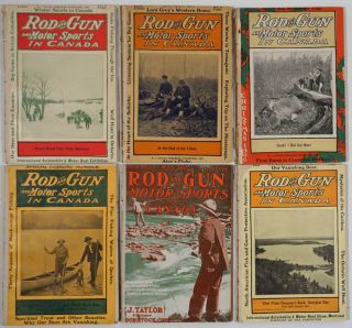 Rod and Gun and Motor Sports in Canada. 6 issues