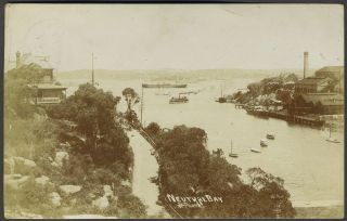 Real photo postcard of Neutral Bay, Sydney