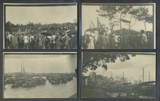 Real photo postcards of the Xinhài Gémìng, Xinhai Revolution of 1911, Taken by an American....
