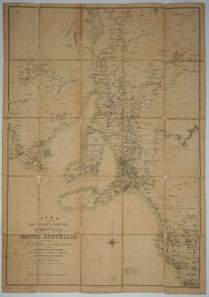 Plan of the Southern Portion of the Province of South Australia as Divided into Counties and...