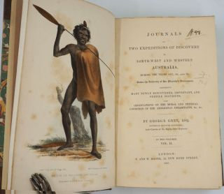 Journals of Two Expeditions of Discovery in Northwest and Western Australia during the Years 1837, 1838 and 1839.