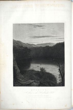 Weir engraving of Hudson River in The New York Mirror, Volume XII - XIII.