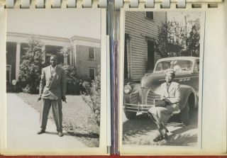 Photo album of African American Friends and Family from 1940s - 1960s, North Carolina, possibly...
