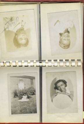 Photo album of African American Friends and Family from 1940s - 1960s, North Carolina, possibly Winston-Salem State University.