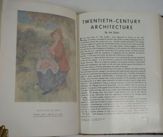 The Studio: an Illustrated Magazine of Fine and Applied Art. 4 volumes, 1930, 1931, 1932 & 1935.