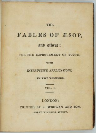 Kangaroos in 'The Fables of Aesop, and others: For the Improvement of Youth, with Instructive Applications. In Two Volumes'.