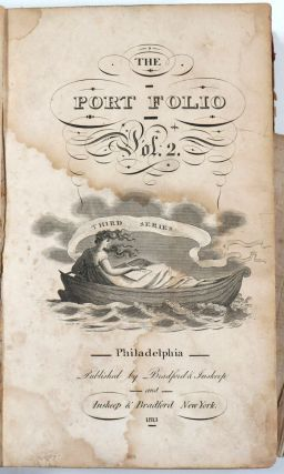 The Port Folio. Third Series. Volume 2. Oliver Oldschool