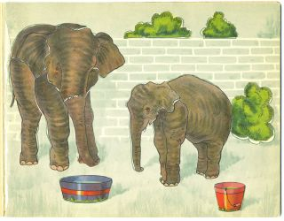 Paste'Em & Coloring Book, Our Zoo, No. 27.