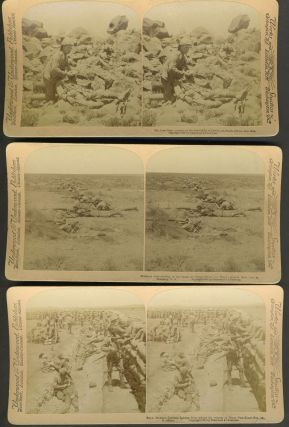 Boer War, South Africa - 9 Stereoviews by Underwood & Underwood