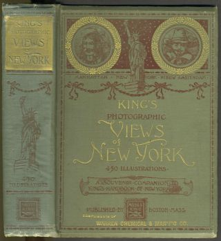 King's Photographic Views of New York - Presentation Copy. Moses King