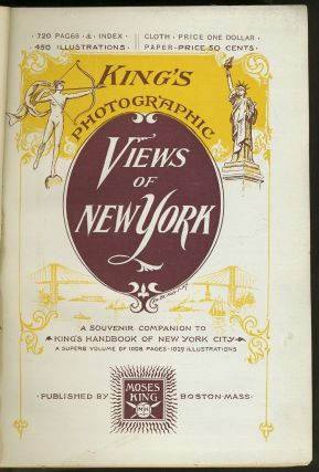 King's Photographic Views of New York - Presentation Copy.