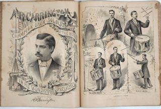 The Redpath Lyceum compilation of performances for the Season of 1878 - 1879. Including article on The Age of Gold & Yosemite Valley & a Susan B. Anthony impersonator performance.
