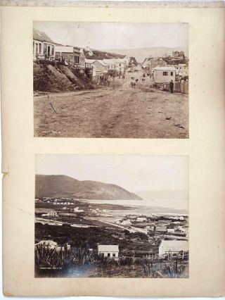 South Island, New Zealand (Dunedin). 14 Albumen photographs. New Zealand, Photography, William...
