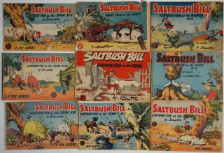 Saltbush Bill. Cartoon Fun on the Farm. 20 numbers including the first number. Eric Jolliffe