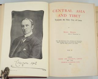 Central Asia and Tibet. Towards the Holy City of Lassa. Volumes I & II.