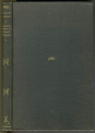 Reminiscences of Leonid Andreyev. Authorized translation from the Russian by Katherine Mansfield and S.S. Koteliansky.