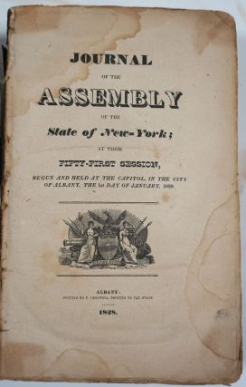 Journal of the Assembly of the State of New-York, at Their Fifty-First Session (1828