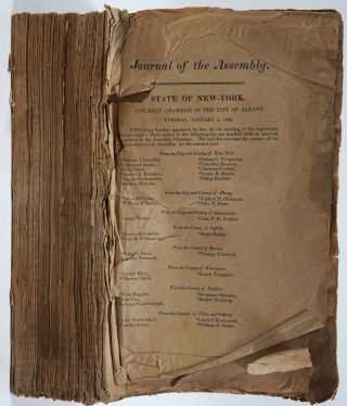 Journal of the Assembly of the State of New-York, at Their Forty- Fifth Session (1822
