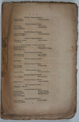 Journal of the Assembly of the State of New-York, at Their Forty-Third Session (1820).