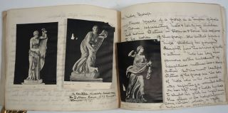 Classical art album, with annotations throughout. Susan E. Goelet Drake