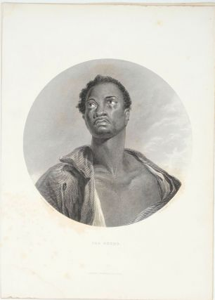 The Negro, engraving with text. W. Simpson, Sculpt W. Hulland