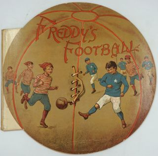 Freddy's Football. Die Cut rugby & sports book. Mary Boyle