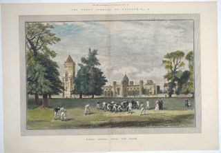 The Great Schools of England 5 - Rugby School from the Close