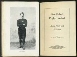 New Zealand Rugby Football: Some Hints and Criticisms.