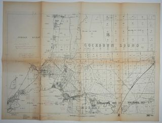 Cockburn Sound / Murray / Wellington District Cadastral maps.
