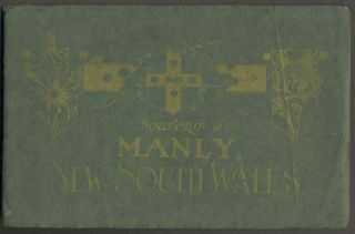 Souvenir of Manly, New South Wales. Star Photo Company